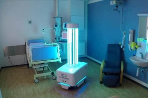 New Robot Disinfects Hospitals to Reduce COVID-19 Spread