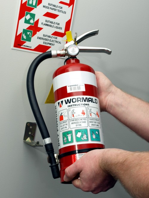 Fire extinguishers essay