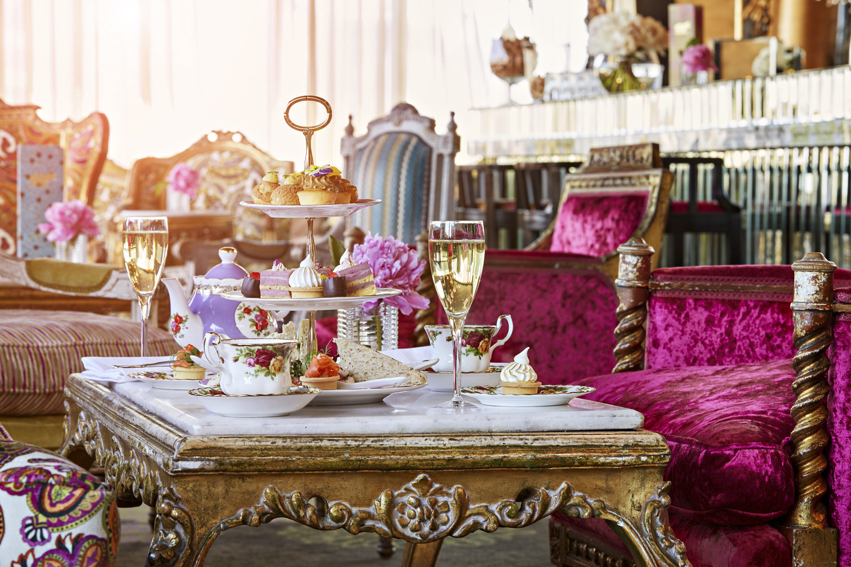 Hippopotamus High Tea