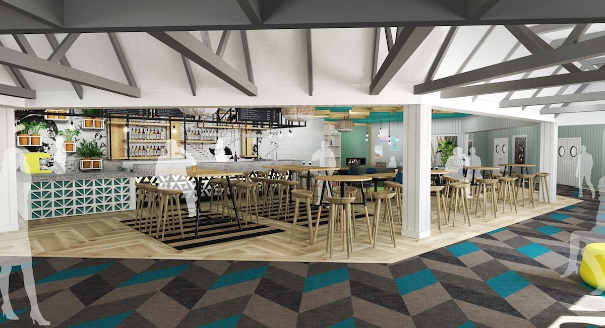 Holiday Inn Auckland Airport ground-floor Halo Bar