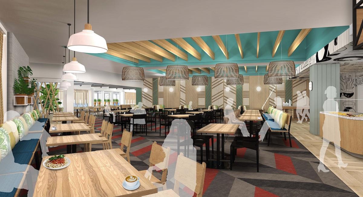 Holiday Inn Auckland Airport new look Vapor Restaurant