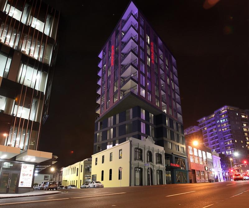 Ramada Victoria Street West night