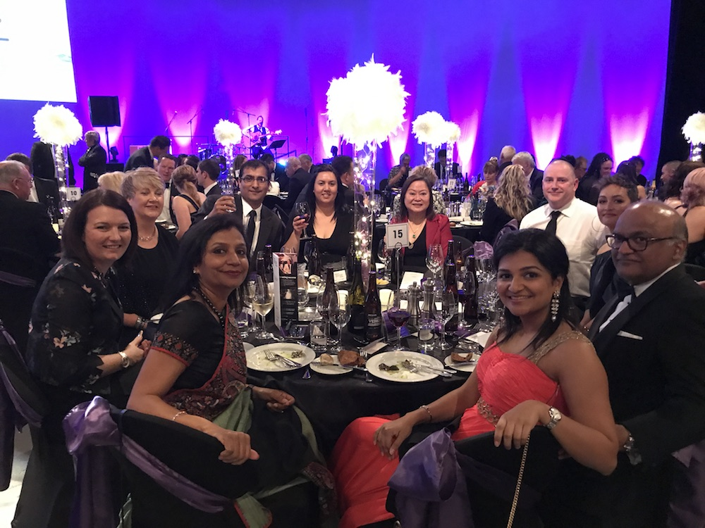 Sudima Hotels & Resorts team at the TIA Awards
