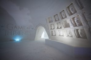 LAPLAND HOTELS CONSTRUCTS GAME OF THRONES THEMED ICE HOTEL
