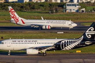 Air New Zealand and Virgin Australia