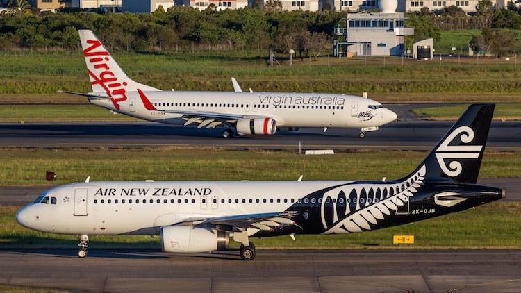 Air New Zealand and Virgin Australia