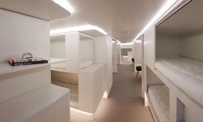 New bunk bed style rooms planned for Airbus.