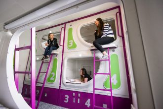 Jucy pod bunk beds