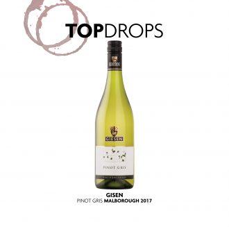 Bottle of Giesen Estate Pinot Gris 2017