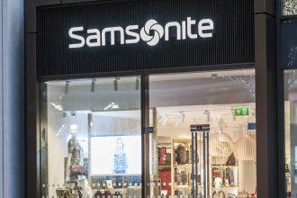 Samsonite storefront