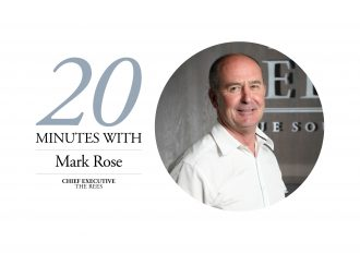 Mark Rose 20 Minutes With banner