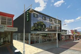 Artist's impression of Quest Tauranga Central