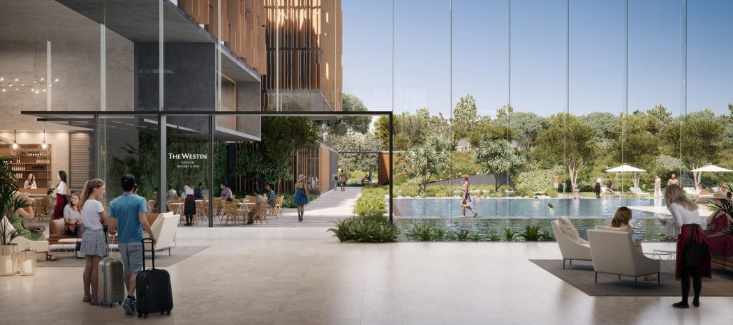 Artist's impression of The Westin Coolum Resort and Spa