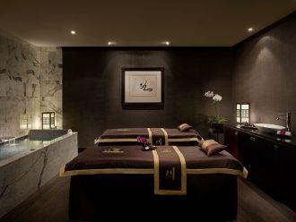 Dual treatment room at Chuan Spa, Cordis, Auckland.
