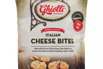 Packet of Cheese Bites