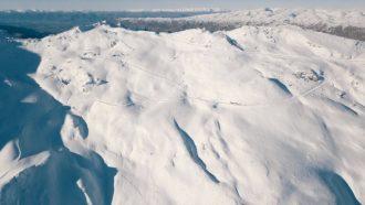 Landscape of Mount Cardrona.
