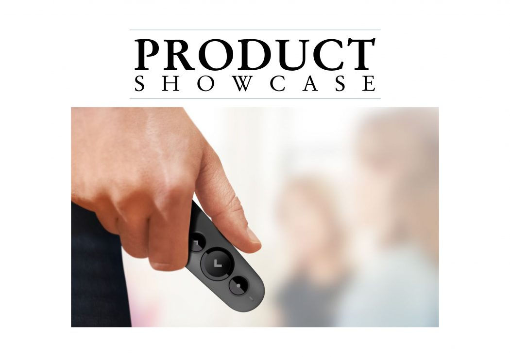 Product Showcase, Logitech banner.