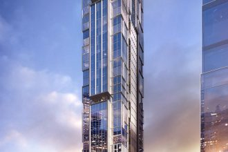 Artist's impression of the Hotel Indigo.
