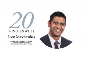 Leon MAscarenhas, 20 Minutes With banner