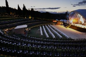 Black Barn Vineyards ampitheatre