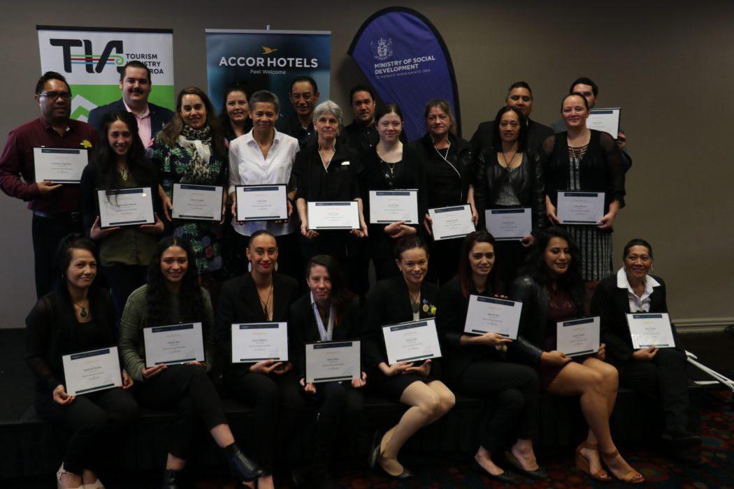 Graduates of the AccorHotels Fast Track Partnership Programme