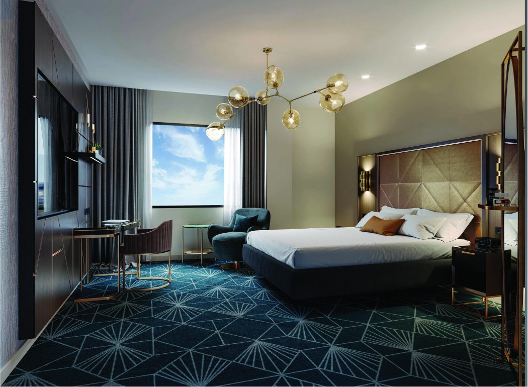 Sarin Napier hotel interiors.