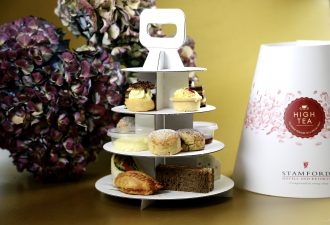 Three tier stand, Takeaway High Tea