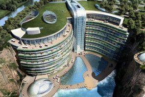 Artist's render of the InterContinental Shangai Wonderland.