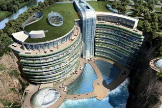 Artist's render of the InterContinental Shangai Wonderland.