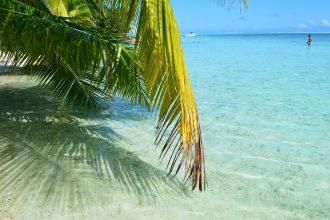 Tahiti beach front