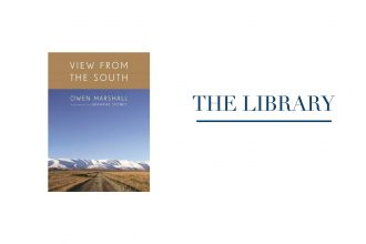 The Library banner, book Views From the South