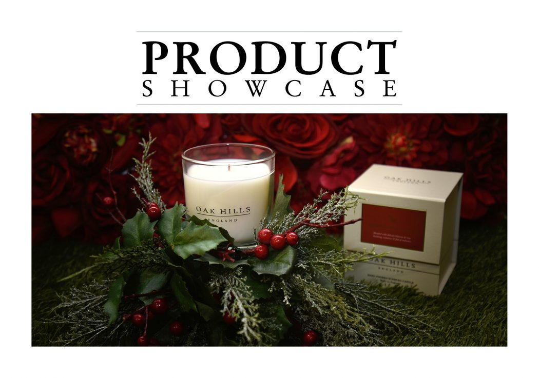 Oak Hills Candles in Mistletoe.