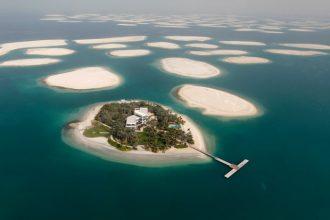 Dubai islands from a birds-eye view.