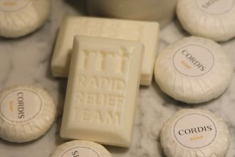 Cordis Auckland used soap bars.