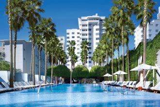 Delano South Beach, Miami Florida,