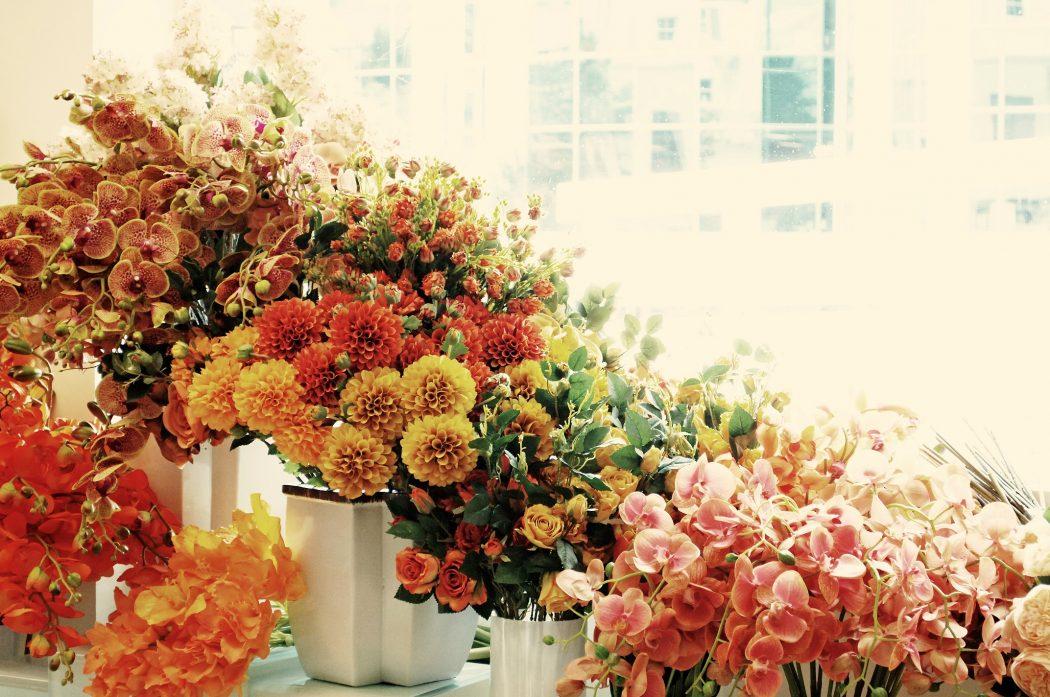 Flowers from Fabulous Faux Flowers.