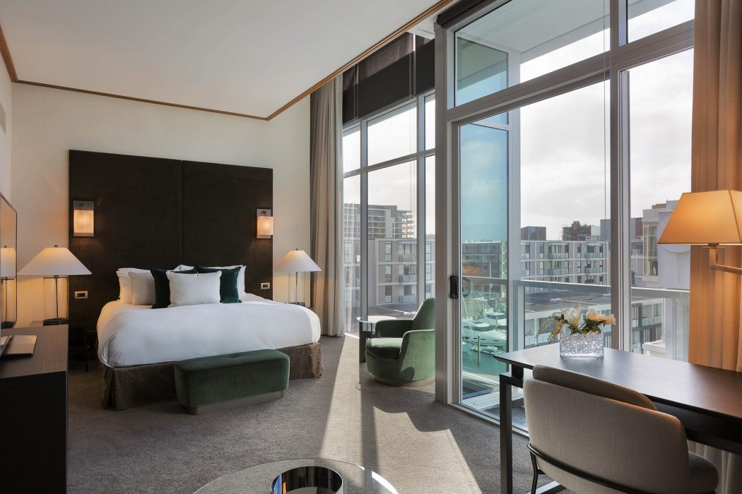 Sofitel Auckland Interconnecting Marina View Room-low
