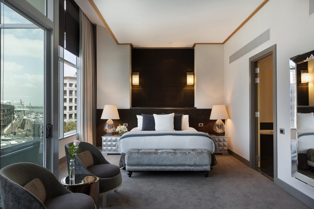 Sofitel Auckland Opera Suite Bedroom-low