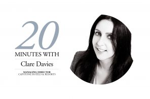 Clare Davies 20 Minutes With feature.