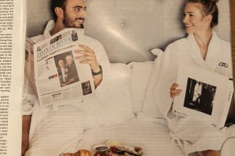 Sofitel print ad in the Sydney Morning Herald.