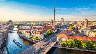 River across Berlin.