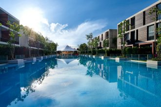 SO Sofitel signature pool expansion.