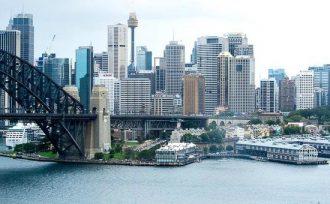 Sydney CBD shot