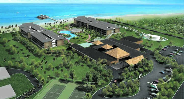 Artist's impression of Pullman Nadi Bay Resort.