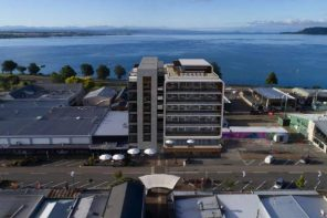 Architect's impression of the declined Taupo hotel.