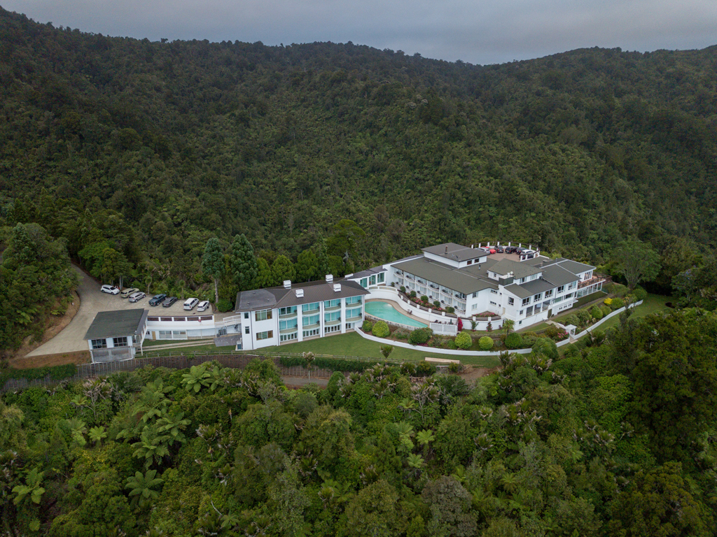 Waitakere Estate aerial view.