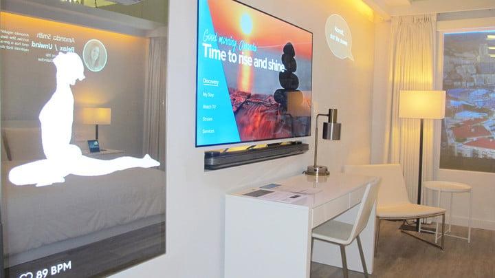 Smart smart rooms.