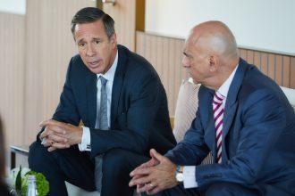 Marriott CEO Arne Sorenson testified before a Senate homeland security subcommittee.