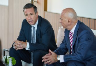 Marriott CEO Arne Sorenson testified before a Senate homeland security subcommittee.