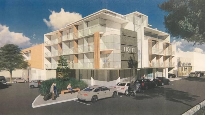 Five-storey Napier hotel set back   Hotel Magazine